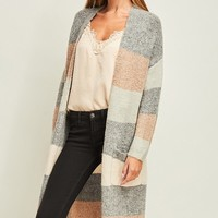 Come Close Cardigan - Dusty Blue