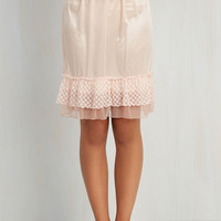 Prim and Her Half Slip in Peach by ModCloth