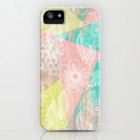 Floral MIX iPhone & iPod Case by Louise Machado
