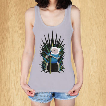 """jake game of thrones adventure time Tank, T Shirt, Tank Top, Women Tanktop, Tanktop T Shirt - Size Print (12""""x12"""")"""