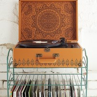 Crosley X UO Keepsake Embossed AV Room Portable USB Vinyl Record Player | Urban Outfitters