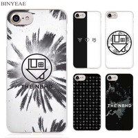 BINYEAE The Neighbourhood NBHD Clear Cell Phone Case Cover for Apple iPhone 4 4s 5 5s SE 5c 6 6s 7 Plus