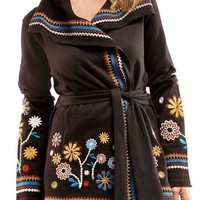 Hand Embroidered Jacket by Charlie Paige