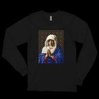 "Limited ""LV x Sassoferrato"" Madonna Concept L/S Tee (Available in Black & White)"