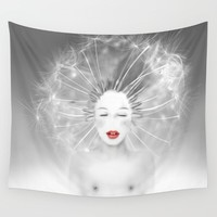 Connexion Wall Tapestry by LilaVert | Society6