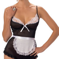 A French Affair Lingerie Maid Costume