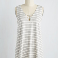 Concourse of Action Top in Stripes | Mod Retro Vintage Short Sleeve Shirts | ModCloth.com