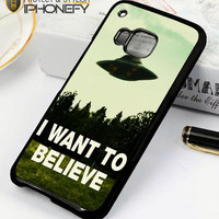 I Want To Believe Ufo Aliens HTC One M9 Case|iPhonefy