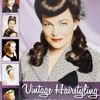 VINTAGE HAIRSTYLING BOOK - Books - Housewares