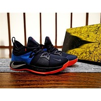 nike pg2 okc home basketball shoe