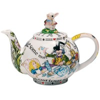 Alice in Wonderland Teapot Small