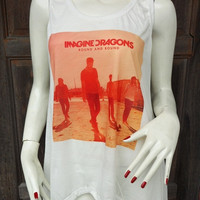 Imagine Dragons  -Tank Tops Tank T Shirts Free Size - 2