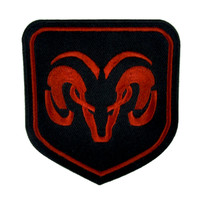 Dodge Ram Truck Patch Iron On Applique Alternative Clothing Car Auto