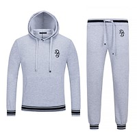 Boys & Men Dolce&Gabbana Top Sweater Pullover Hoodie Pants Trousers Set Two-Piece