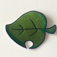 Nintendo Animal Crossing Furniture Leaf Iron / Sew On Patch