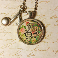 Music Notes Pendant 2