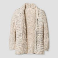 Toddler Girls' Shawl Collar Cardigan - Cat & Jack™ Cream