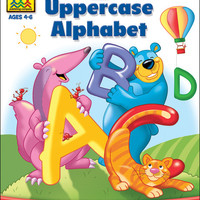 preschool workbooks 32 pages-uppercase alphabet