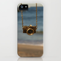 Camera over the ocean iPhone Case by Beckah Carney Photography