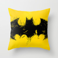 'Anyone Here?' Throw Pillow by Peter Goes