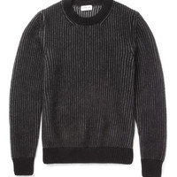 Exemplaire - Cashmere and Angora-Blend Sweater   MR PORTER