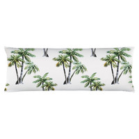 Tropical Palms Body Pillow