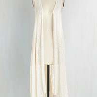 Boho Long Forever and a Daydream Vest