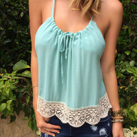 Crochet Self-Tie Top