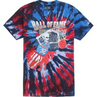 Hall of Fame Dunk T-Shirt - Mens Tee - Tie Dye