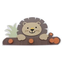 "Babies""R""Us Safari Wooden Baby Boy Lion Wall Decor"