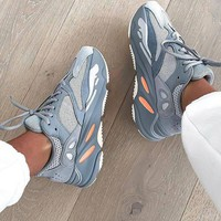 Adidas Yeezy 700 Runner Boost Classic Popular Couple Casual Running Sport Shoes 5#