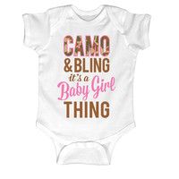 Camo & Bling Onesuit