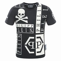 2018 Men Cheap Philipp Plein T Shirt hot sale ♂033