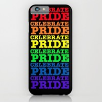 GAY PRIDE CELEBRATE  iPhone & iPod Case by Tony Vazquez