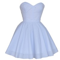 White Vintage Inspired Prom Dress | Style Icon`s Closet