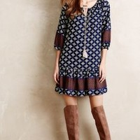 Wayfinder Peasant Tunic by Vanessa Virginia Blue Motif
