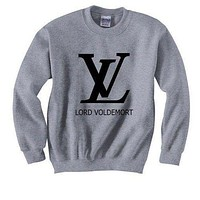LV Louis Vuitton Fashion New Bust Letter Print Sport Casual Top Sweater Pullover Sweatshirt