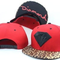 Perfect Diamond Snapbacks hats Women Men Embroidery Sports Sun Hat Baseball Cap Hat