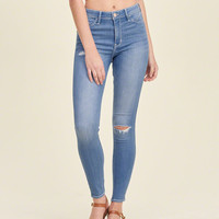 Hollister High Rise Super Skinny Jeans