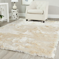 Safavieh Paris Shag Ivory Area Rug