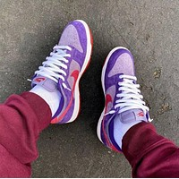 Nike Dunk Low Plum Hot Sale Men's and Women's Low-Top Casual Shoes