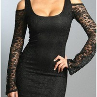 MIAMI SLEEVE LACE DRESS - 29 and Under