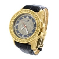 Canary Lab Diamond Bezel 5ATM Water Resistant Stainless Steel Khronos Watch