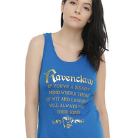 Harry Potter Ravenclaw Sorting Hat Girls Tank Top