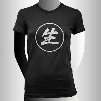 Black butler reaper logo printed on Women tee size S, M, L, XL, XXL and 3XL