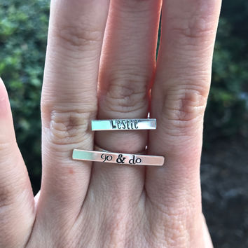 Silver Statement Ring - Ready to Ship