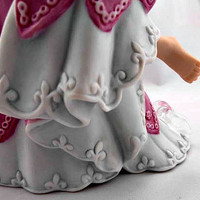 On Sale-Vintage Collectible-Porcelain Figurine Cinderella The Legendary Princess-Circa 1988-Free Shipping in the USA!