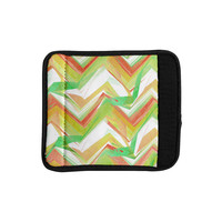 "Alison Coxon ""Summer Party Chevron"" Luggage Handle Wrap"
