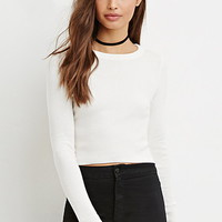 Classic Cropped Sweater