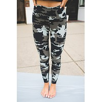 Mono B Jungle Camo Leggings